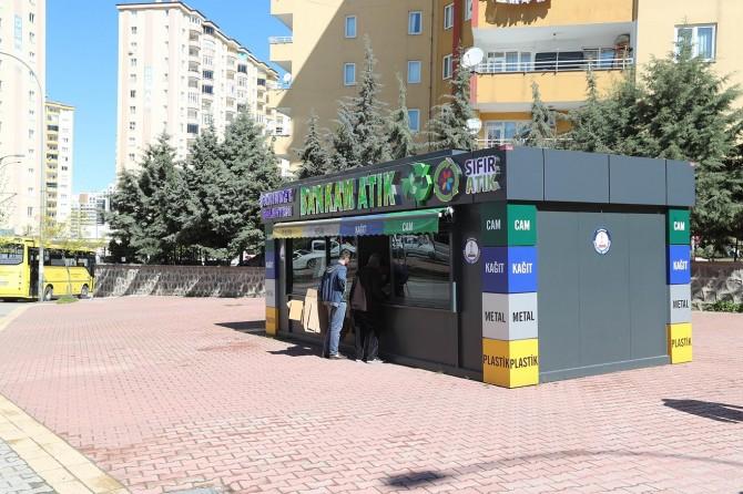 Gaziantep'te Şahinbey Belediyesinden atıklarını bankam atıka getir altın al