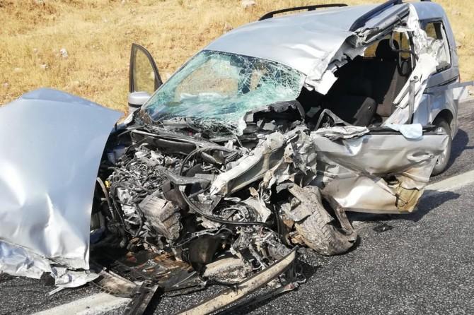 Bitlis'te kaza: 4'ü ağır 6 yaralı