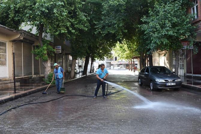 Hilvan Belediyesi'nden temizlik çalışmaları