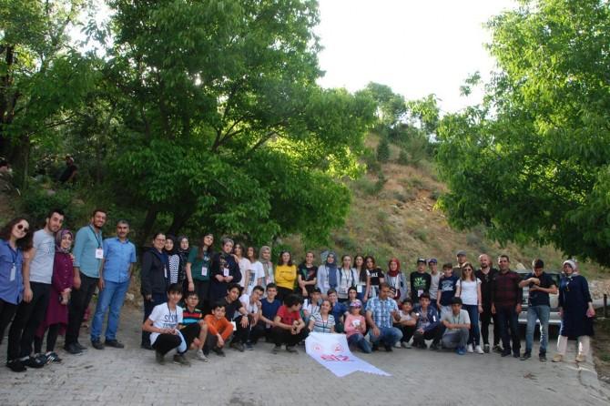 Artvinli çocuklar Bitlis'i gezdi