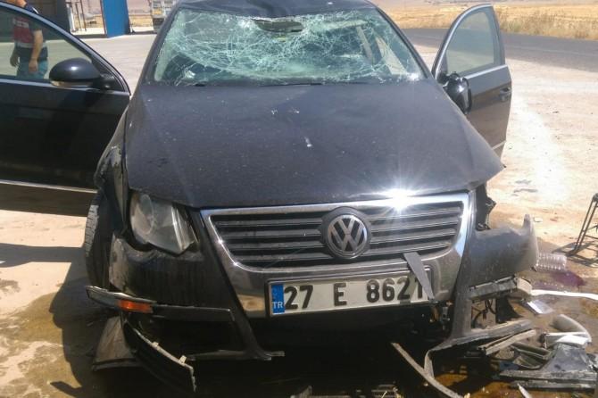 Mardin Artuklu'da öğretmenler kaza geçirdi: 5 yaralı