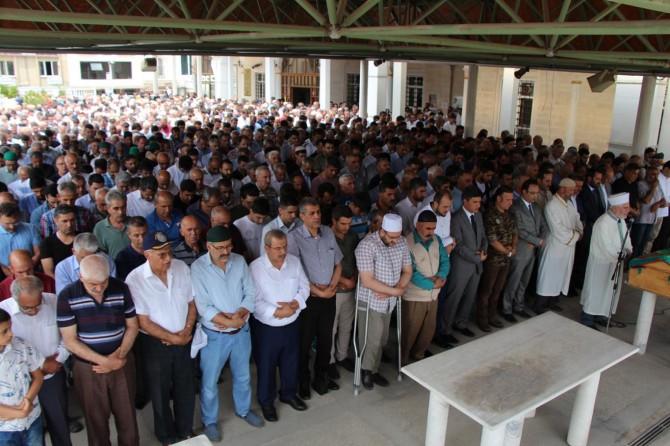 Elazığ'da Mursi için gıyabi cenaze namazı kılındı