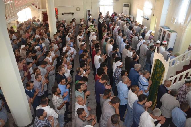 Muhammed Mursi için Viranşehir'de gıyabi cenaze namazı kılındı