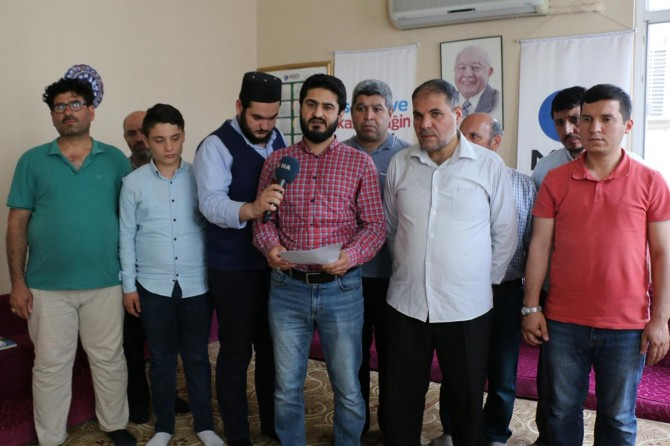 Mursi'nin Cenab-ı Hakk'ın lütfuna mahzar olduğuna inanıyoruz