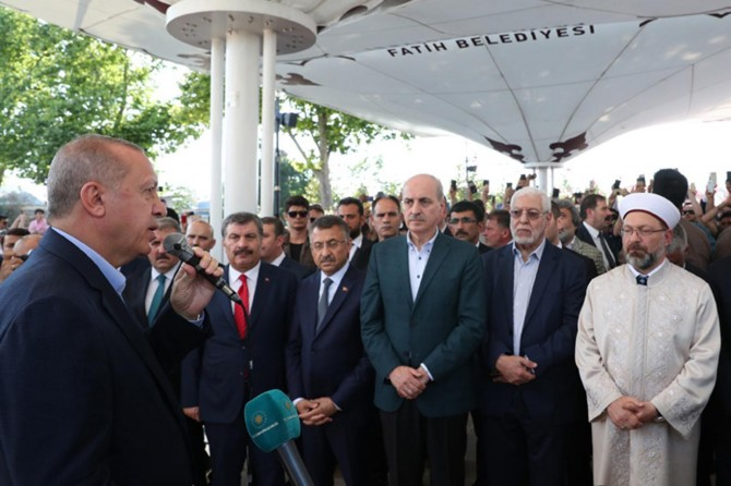 There is no such thing as a martyr of democracy: President Erdoğan