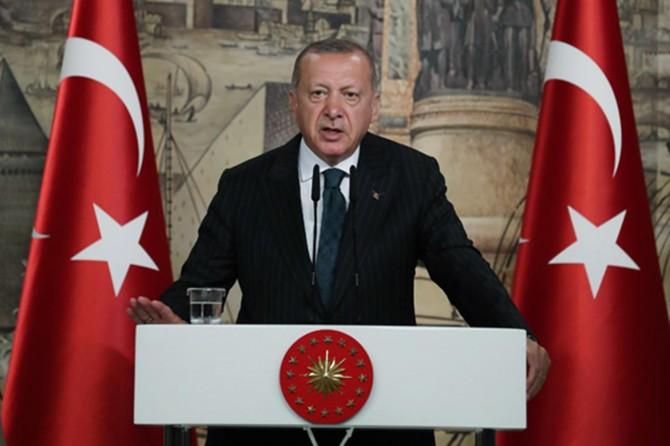 Erdoğan'dan S-400 açıklaması: Yaptırımlara ihtimal vermiyorum