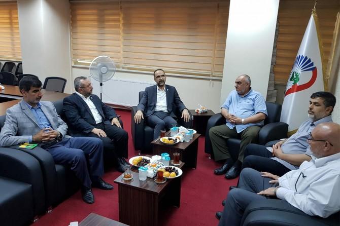 HÜDA PAR Genel Başkanı Sağlam'dan İstanbul'da bir dizi ziyaret