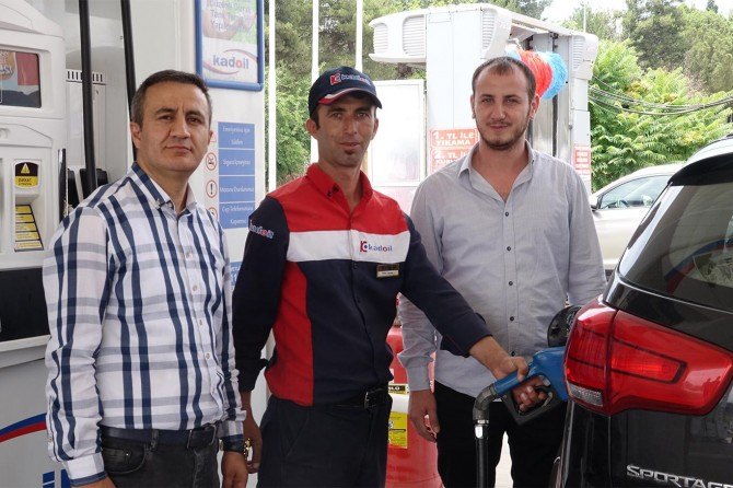Gaziantep'te akaryakıt tanzim satış noktaları kuruldu