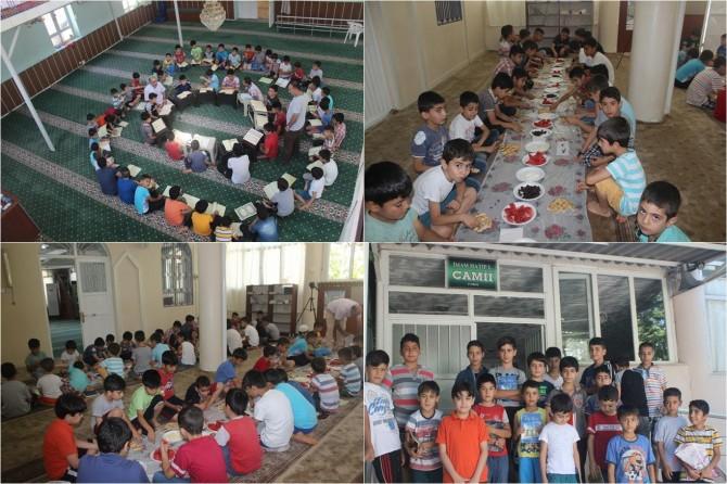 Yaz Kur'an kurslarıyla çocuklarımızın verimli bir tatil geçirmesini amaçlıyoruz