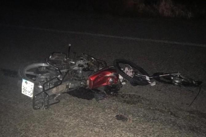 İslahiye'de otomobil ile çarpışan motosikletli hayatını kaybetti