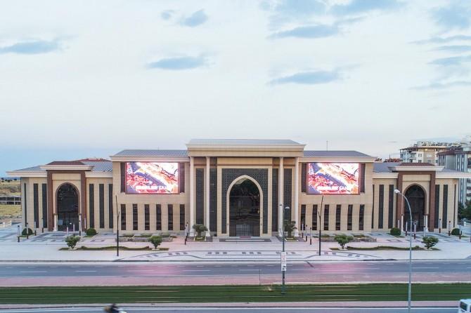 Bölgenin en büyük kongre merkezi hizmete açılacak
