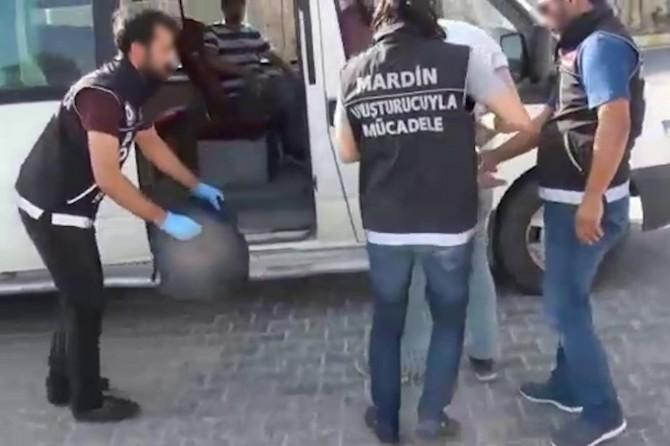 Mardin'de uyuşturucu ve kaçakçılık operasyonları