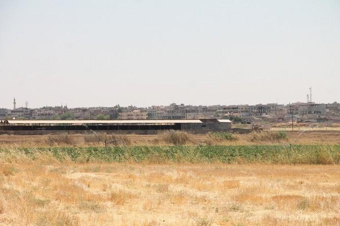 Sınır hattındaki ekim yasağına tepkiler
