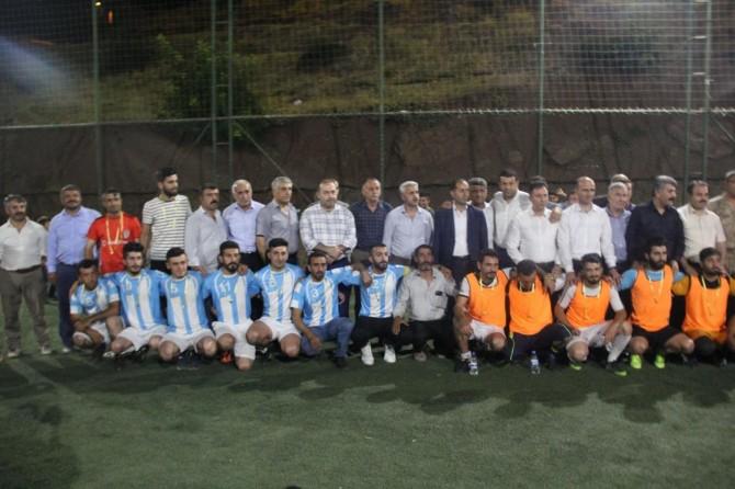 Sason'da Birlik ve Kardeşlik Futbol Turnuvası düzenlendi
