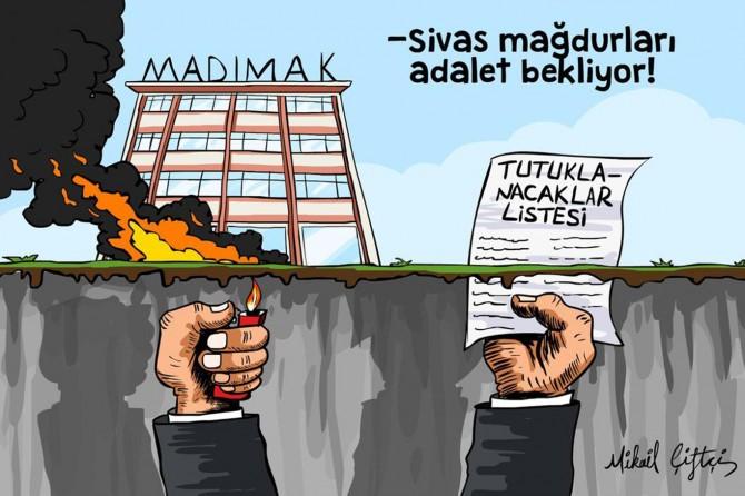 Sivas mazlumları adalet bekliyor