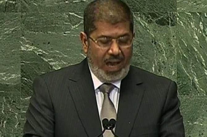 Şehid Mursi'nin tarihi BM konuşması (Türkçe alt yazılı video)