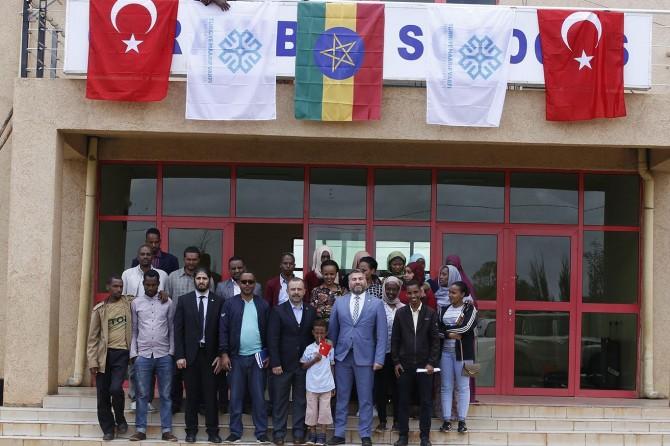 Türkiye Maarif Vakfı Etiyopya'da FETÖ okullarını devraldı