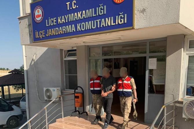 5 ayrı suçtan aranan PKK'li Lice'de yakalandı
