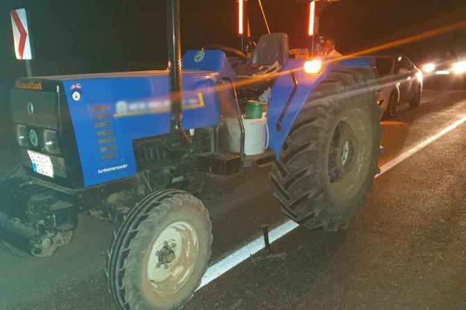 Solhan'da traktörden düşen şahıs ağır yaralandı