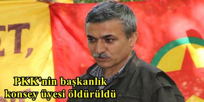 PKK'nin başkanlık konsey üyesi öldürüldü
