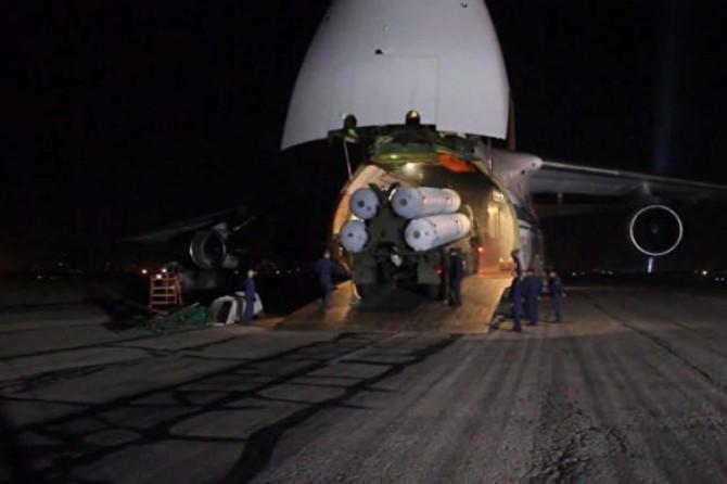 S-400'ler Türkiye'ye yollandı