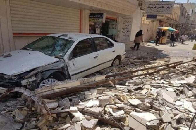 İran'da deprem: 1 ölü 56 yaralı