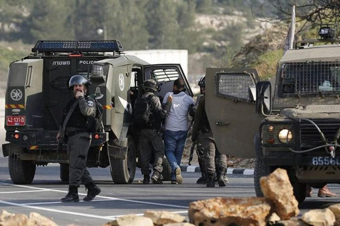 Occupying zionists abduct 25 Palestinians