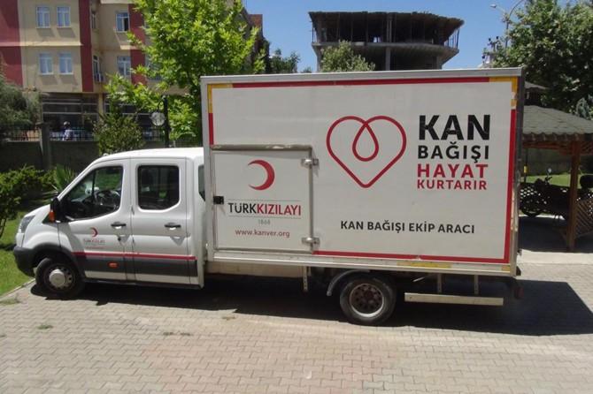 Adıyaman'da çocuklardan kan bağışı çalışmasına destek