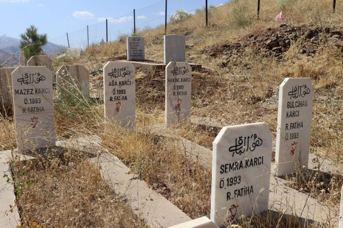 Êş û elema 4 zarok û dîya wan ên ku ji teref PKKê ve hatibûn qetilkirin hêj wek îro ye