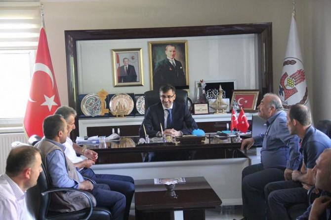 Bitlis Belediyesi kaldırım işgaline son vermek için çalışma başlattı
