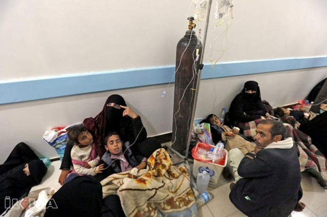 Largest cholera outbreak in history occurs in Yemen