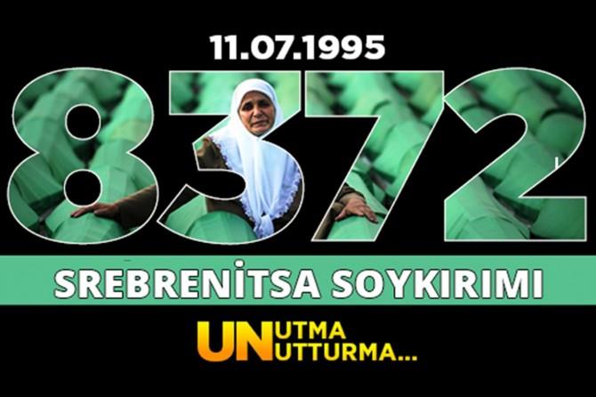 Srebrenitsa'da yaşananları yüreğimizde hissettik