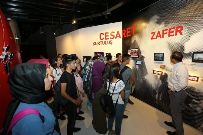 15 Temmuz Müzesi'nde ziyaretçi yoğunluğu