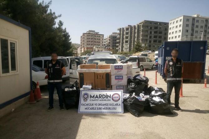 Mardin'de kaçakçılık operasyonu: 10 gözaltı