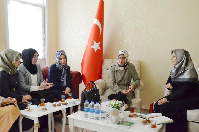 Yeniden Refah Partisi İstanbul İl Başkanlığından HÜDA PAR İl Başkanlığına ziyaret