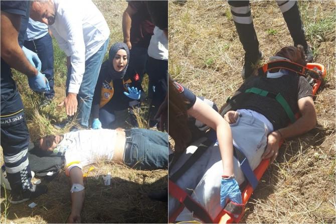 Muş'ta kaza: Biri ağır 3 yaralı
