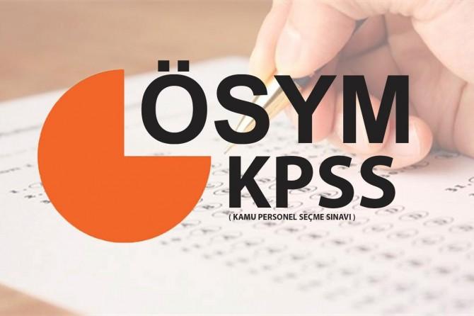 KPSS heyecanı başladı