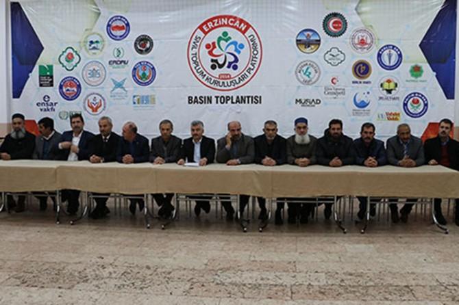 Erzincan Sivil Toplum Platformundan İstanbul Sözleşmesine Tepki