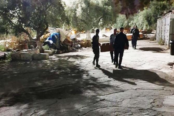 Siyonistler Er-Rahme Kapısı Namazgâhı'na baskın düzenledi