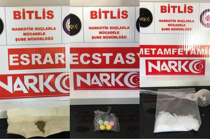 Bitlis'te uyuşturucu operasyonu: 10 şüpheli tutuklandı