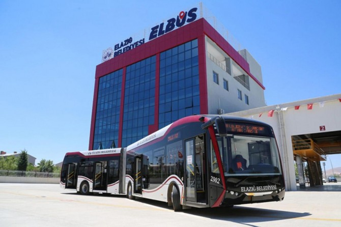 Elazığ'da belediye araçları 15 Temmuz'da ücretsiz olacak