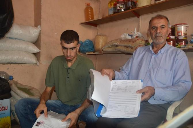 Siirt'te 15 Temmuz gecesi kısmi felç geçirip akli dengesini kaybetti