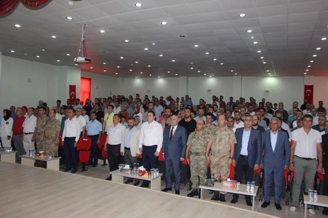 15 Temmuz şehitleri Nusaybin'de anıldı