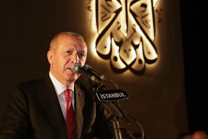 Cumhurbaşkanı Erdoğan: Anadolu toprakları o gece bir kez daha bize vatan kılındı