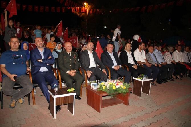 Midyat'ta 15 Temmuz etkinliği