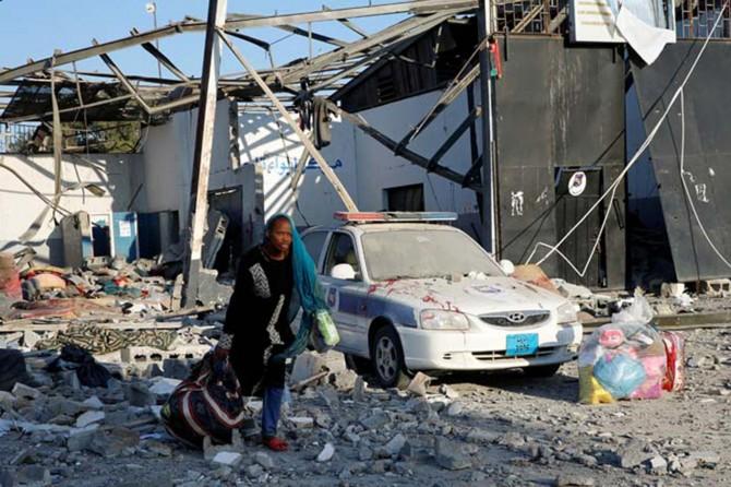 Hafter güçleri hastane vurdu: 3 ölü