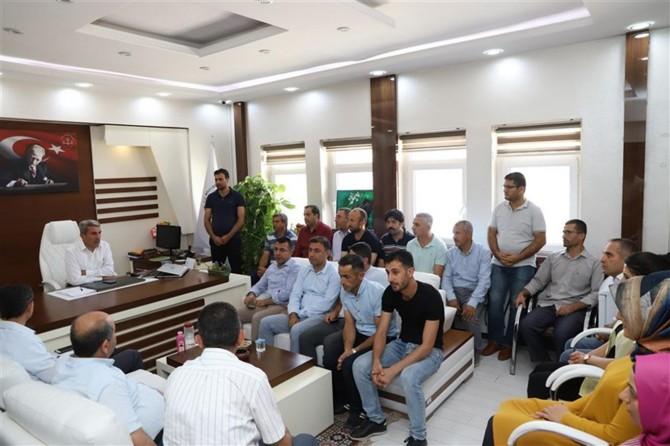 Mardin İl Milli Eğitim Müdürü Yakup Sarı ilçe ziyaretleri
