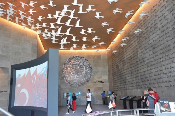 Hafıza 15 Temmuz Müzesi'ne yoğun ilgi