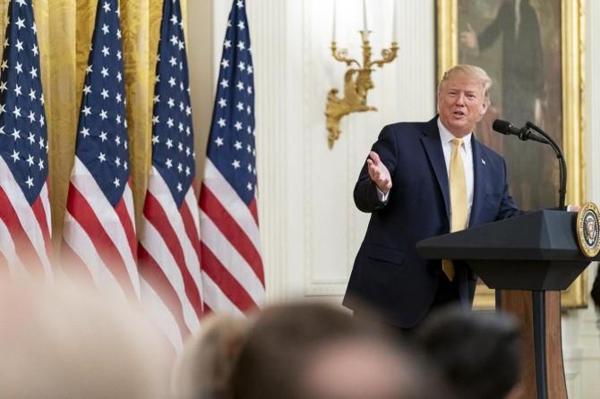 Trump'tan F-35 açıklaması: Milyarlarca dolarlık uçak satmamıza izin verilmiyor