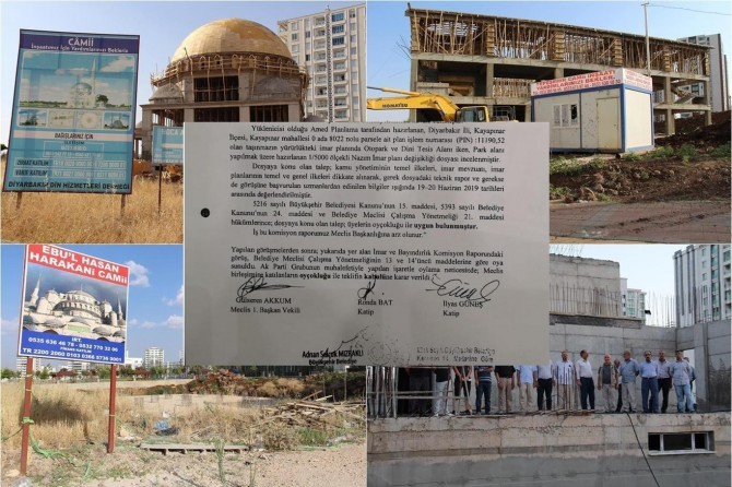 Decision of Diyarbakır Metropolitan Municipality to demolish mosques and its repercussions